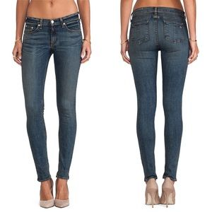 Rag and bone/Jean High Rise Skinny Augusta Sz 26